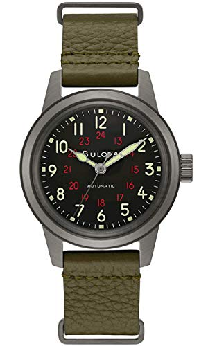 Bulova Archive Series: Military - 98A255 Black One Size