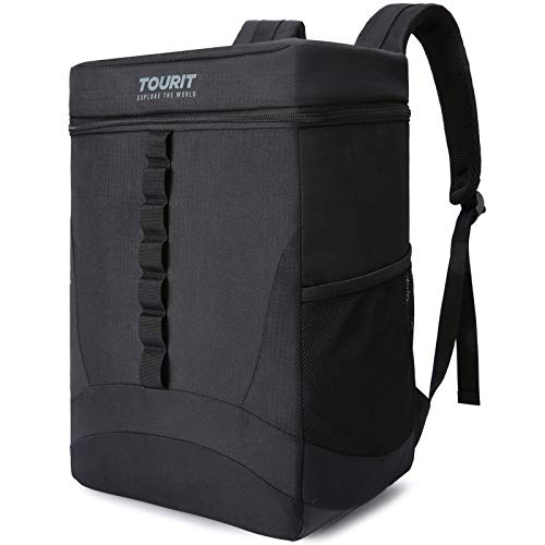 TOURIT Backpack Cooler Leakproof 36 Cans Large Capacity Insulated Cooler Backpack Lightweight Soft Cooler Bag for Men Women to Picnics, Camping, Hiking, Beach, Park or Day Trips