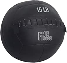 Fitness First Soft Wall Ball, Strength and Conditioning CrossFit WOD (5 LBS)