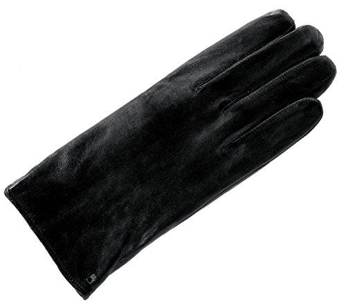 Roeckl Herren Klassiker Fleece Handschuhe, Schwarz (Black 000), 8.5