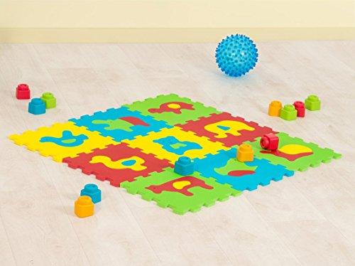 Tappeto Puzzle Ludi 2 in 1 Animali Basic