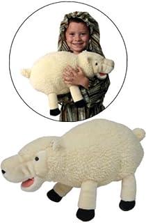 Nativity Sheep Stuffed Toy Plush Hand Puppet