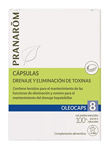 Pranarom Farma Oleocaps 8 depuracion 30cap bio pranarom farma 1 Unidad 500 g