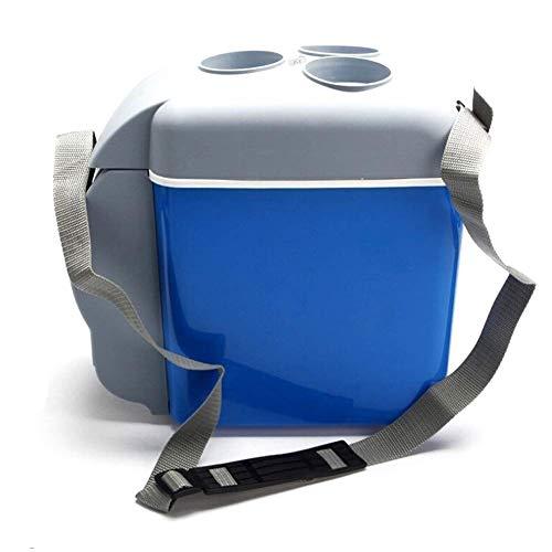 Xndz Portable 12V 7.5L Voiture Réfrigérateur Mini Voyage Réfrigérateur Réfrigérateur Boîte Multi-Fonction Accueil Cooler Congélateur Réchauffeur