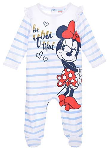 Minnie Mouse Baby - Mädchen Lang Pyjama Schlafanzug