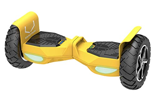 SWAGTRON T6 OFF-ROAD Hoverboard - 10' Wheel, with Auto Balancing and Bluetooth iOS/Android App, UL2272 Certified