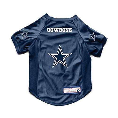 NFL Dallas Cowboys Pet Stretch Jersey, Large