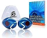 Premium Solarium Schutzbrille - inkl. Ratgeber und Aufbewahrungsbox - hochwertige UV Schutzbrille...
