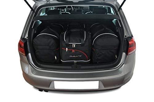 KJUST Dedizierte Reisetaschen 4 STK kompatibel mit VW Golf Hatchback VII 2012 -