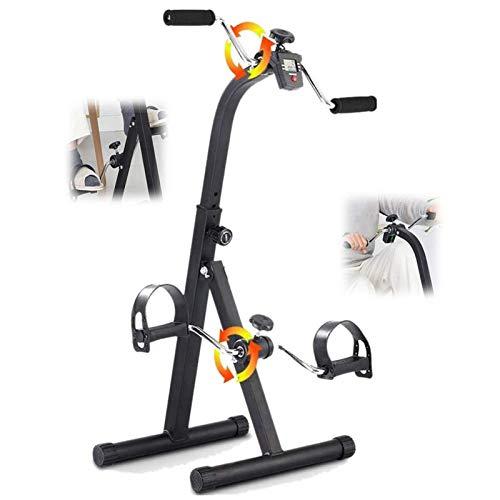 ZXFF Bicicleta De Ejercicios, Máquina De Ejercicios De Pedal Familiar, Ejercicio De La Extremidad Superior E Inferior, Hemiplegia Doméstica, Rehabilitación De Manos, Pierna