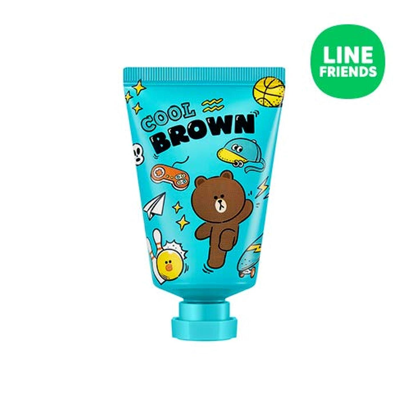 電圧溶ける強盗ミシャ(ラインフレンズ)ラブシークレットハンドクリーム 30ml MISSHA [Line Friends Edition] Love Secret Hand Cream - Brown # Grapefruit [並行輸入品]