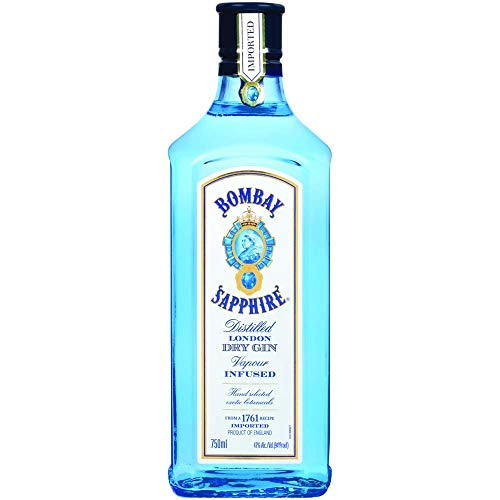 Bombay Sapphire Gin, 750 ml, 94 Proof