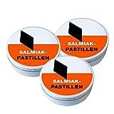 3x Salmiak - Pastillen EXTRA STARK - Erwachsenenlakritz ( DDR )