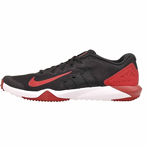 Nike Zapatos de gimnasia para hombre, Negro/Rojo Gimnasio/Antracita, 46 EU