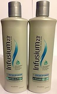 Infusium 23 Moisture Replenisher Shampoo Step 1 16 oz (Pack of 2)