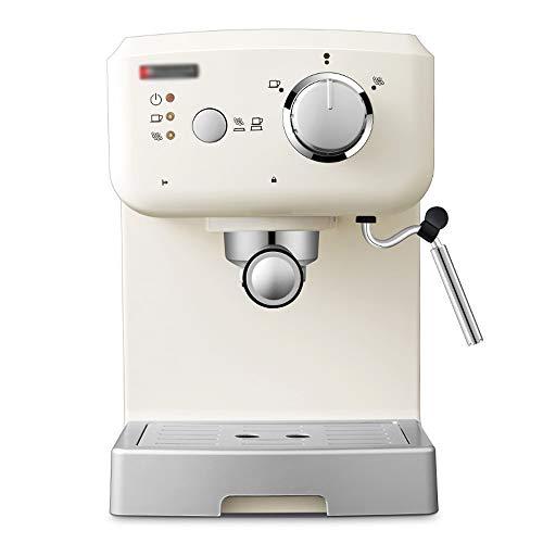 TGhosts Máquina de café, Profesional Espresso Cappuccino Cafetera Máquina con Leche espumejea Brazo for Ministerio del Interior y