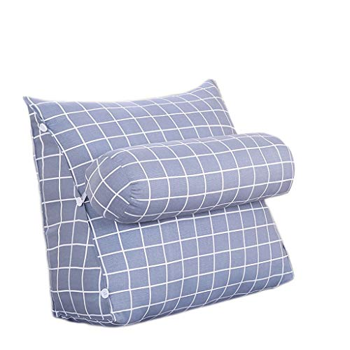 Triangle cushion SLL Office Cushion Sofa Pillow Office Living Room Multicolor Triangle Pillow (Color : E, Size : 45cm*45cm)