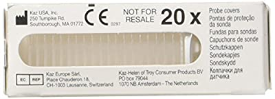 Braun Thermoscan Lens Filters, Covers x 20 (PC20) from Kaz Usa Inc. under licence from Braun