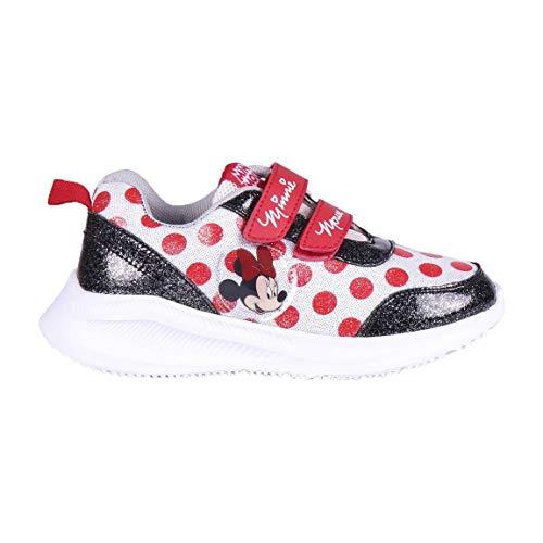 CERDÁ LIFE'S LITTLE MOMENTS Zapatillas Deportivas Minnie Mouse para Niñas con Licencia Oficial Disney, Scarpe da Ginnastica, Multicolore, 23 EU