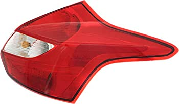Garage-Pro Tail Light Compatible with FORD FOCUS 2012-2014 RH Assembly Hatchback