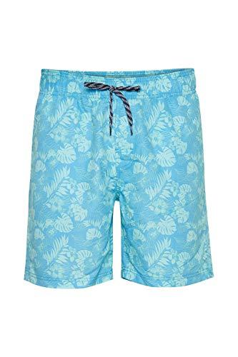 b BLEND Herren Hose Badehose 20712257, Größe:XL, Farbe:Cyan Blue (74650)