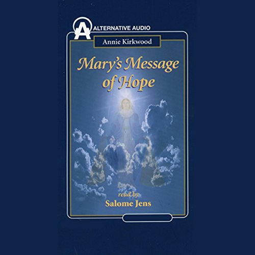 Mary's Message of Hope audiobook cover art