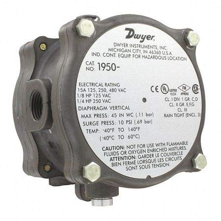 Fantastic Prices! Dwyer Instruments, Inc. 195052F DWYER DIFF PRESSURE SW