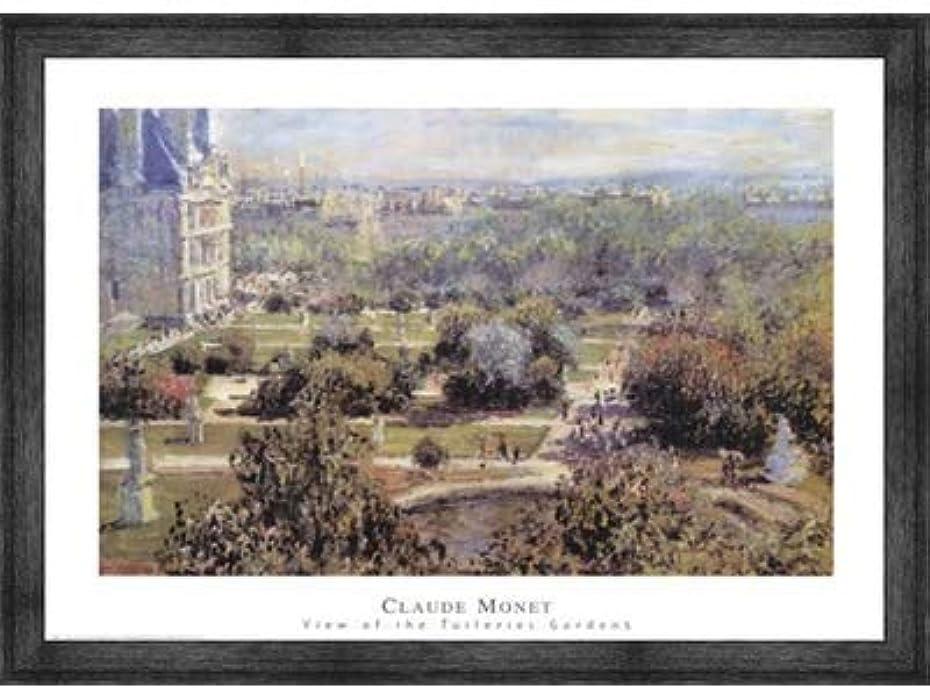 グリル不正直投獄View of Tuileries Gardens by Claude Monet?–?32?X 24インチ?–?アートプリントポスター 32 x 24 Inch LE_25908-F10588-32x24