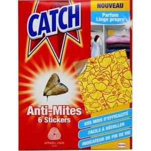 Catch–Anti Tarme dei Vestiti X 6adesivi
