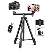 Best Tripods - UBeesize 50-inch Phone Tripod Stand with Extended Arm Review