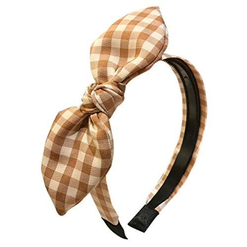 Damen Bogen Stirnband Flanell Elegant Dating Haarband Solide Farbe Süß Welle Punkt Kreuz Krawatte Cross Elastische Stirnbänder Hairband Bandana