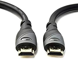 Save on E-COSMOS High Speed HDMI Cable with Ethernet - Supports 3D, 4K 60Hz, Audio Return - Latest Version (6.6 Feet / 2...