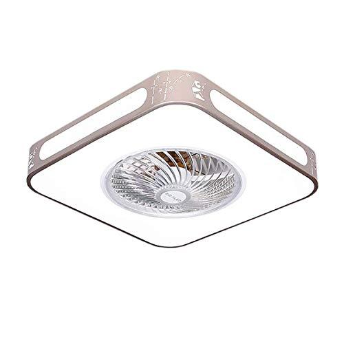 ACHNC Deckenventilator Mit Beleuchtung Und Fernbedienung Dimmbar, Leise Ventilator 4-Gang Einstellbare,96W Moderne LED Fan Deckenleuchte,Bluetooth-Steuerung,Schlafzimmer Wohnzimmer Fan Lampe