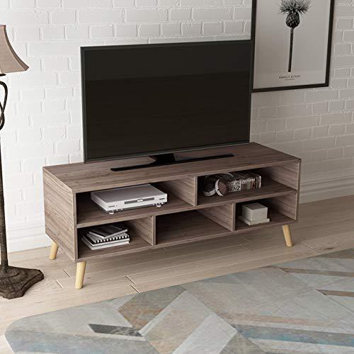 Soges JYB-DSG02-KMW - Mueble de TV con 5 espacios de almacenamiento