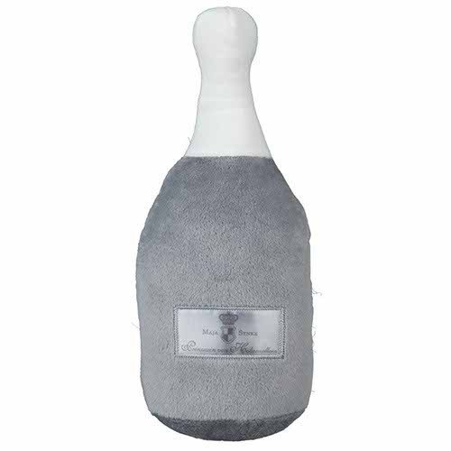 Trixie Dog Prince Champagnerflasche, Größe:M 25 cm;Variante:grau