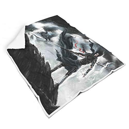 Generic Branded Stormlight Archives manta cuadrada suave para niños y adultos cama camping regalos para amigos blanco 60x80 pulgadas