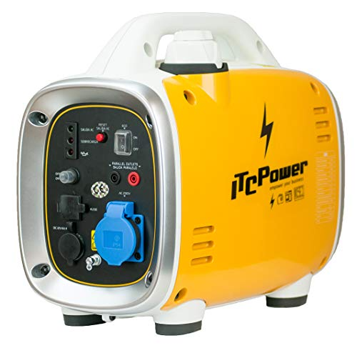 ITCPower IT-GG9I Invertergenerator, Baby-Nageln, Gelb und Weiß, M