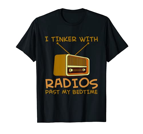 Radiostereo Radioshack Scanner Radios and CD Players T-Shirt