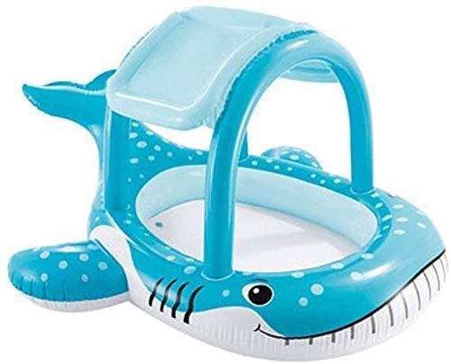 DFKDGL Klapppool Swimmingpool, Kinderbecken, aufblasbares Sommerponton-Baby-Planschbecken, 211 * 185 * 109Cm Ou Ideal für alle Kinder und Erwachsene