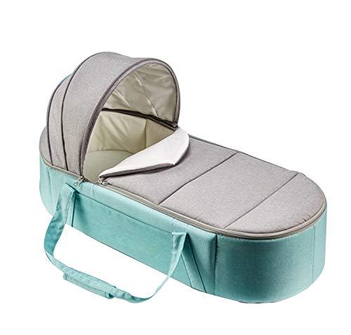 Schlafkorb Liege, Babytragetasche, Anti-Tritt-Babyschlafsack Anti-Druck Kann Sich Hinlegen Schlafkorb Für 0-12 Monate Green