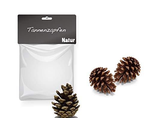 TK Gruppe Timo Klingler Weihnachtlicher Zierschmuck für Weihnachten Deko Dekoration für Tannenbaum, Weihnachtsbaum wie Zimtstangen, Orangenscheiben, Tannenzapfen (Tannenzapfen)