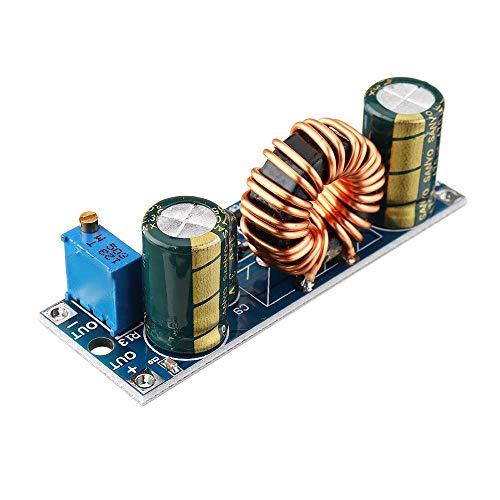 Módulo electrónico XY-SJV-4 CV ajustable 3A 30W DC 5,5-30V a DC 0,5-30V Paso módulo de fuente de Down Buck convertidor de energía del regulador de voltaje 5Pcs Equipo electrónico de alta precisión