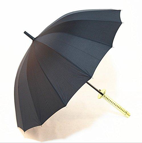 GTWP GTWP GT Umbrella Messergriff überdimensioniert Automatisch Umbrella Anti-UV Waterproof Parasol Regenschirm Sunshade
