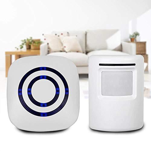 Buycrafty Smart Door Bell Motion Sensor Wireless Doorbell Alert Secure System Alarm Doorbells