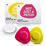 NOT JUST A PATCH Bundle Purple and Yellow Patches for Freestyle Libre and Medtronic