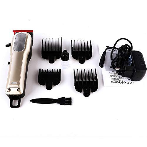 Coiffeur spécial Tondeuse électrique rechargeable adulte du ménage tondeuse à cheveux parage Sculpture Petit Fader Or, Gris (Color : Gold)