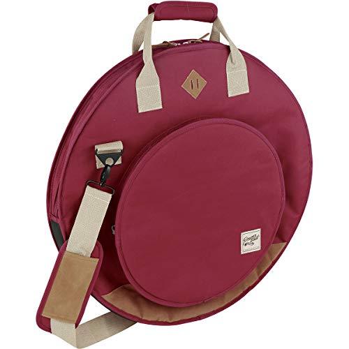 Tama TCB22WR - Custodia Powerpad Designer Collection per piatti, colore: Rosso vino