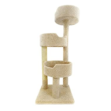 New Cat Condos Deluxe Kitty Pad, Beige