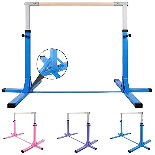 Product Image of the Polar Aurora Gym Gymnastics Training Kip Bar Adjustable Height (3'-5')...