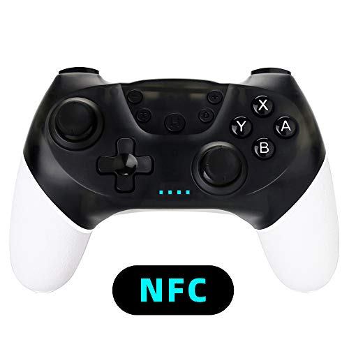 Wireless Pro Controller for Nintendo Switch Support Amiibo - OUBANG Switch Remote Gamepad with NFC,Support Gyro Axis,Turbo and Dual Vibration